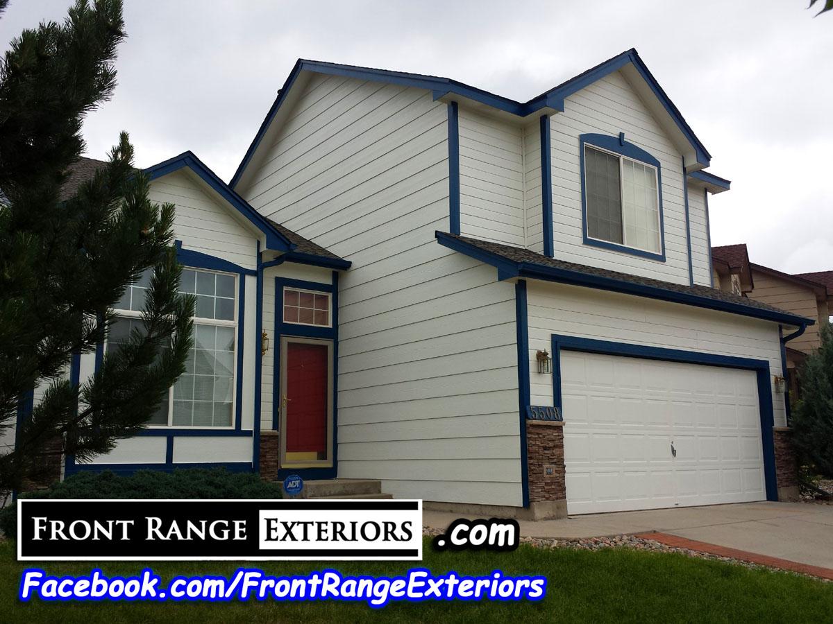 Best Colorado Springs Painting Companies Front Range Exteriors Inc