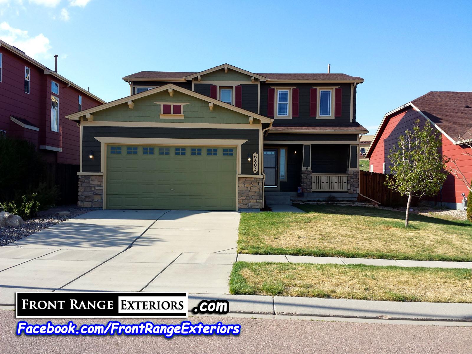 Colorado Springs House Painter 80920 Front Range Exteriors Inc