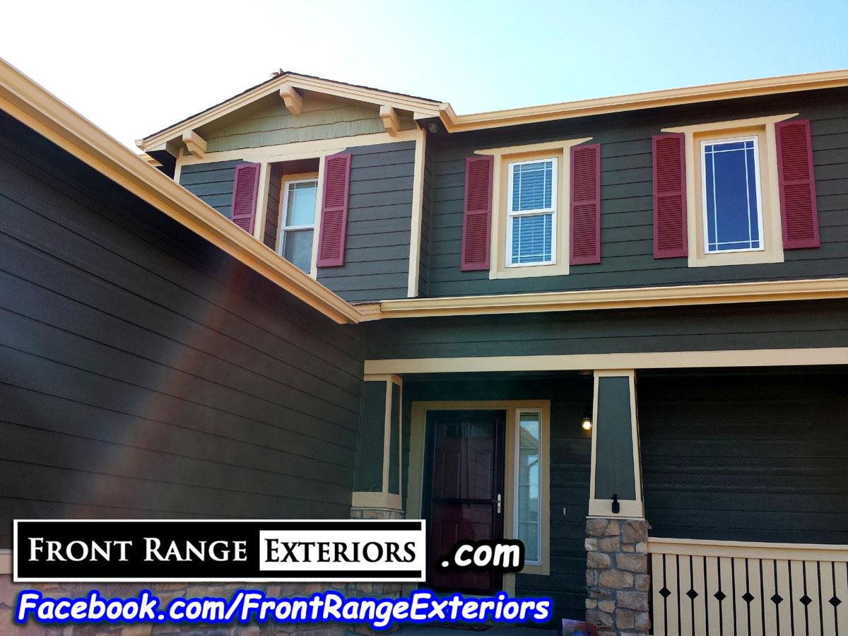 Colorado springs house painter 80920 front range exteriors inc - Colorado springs exterior house painting paint ...