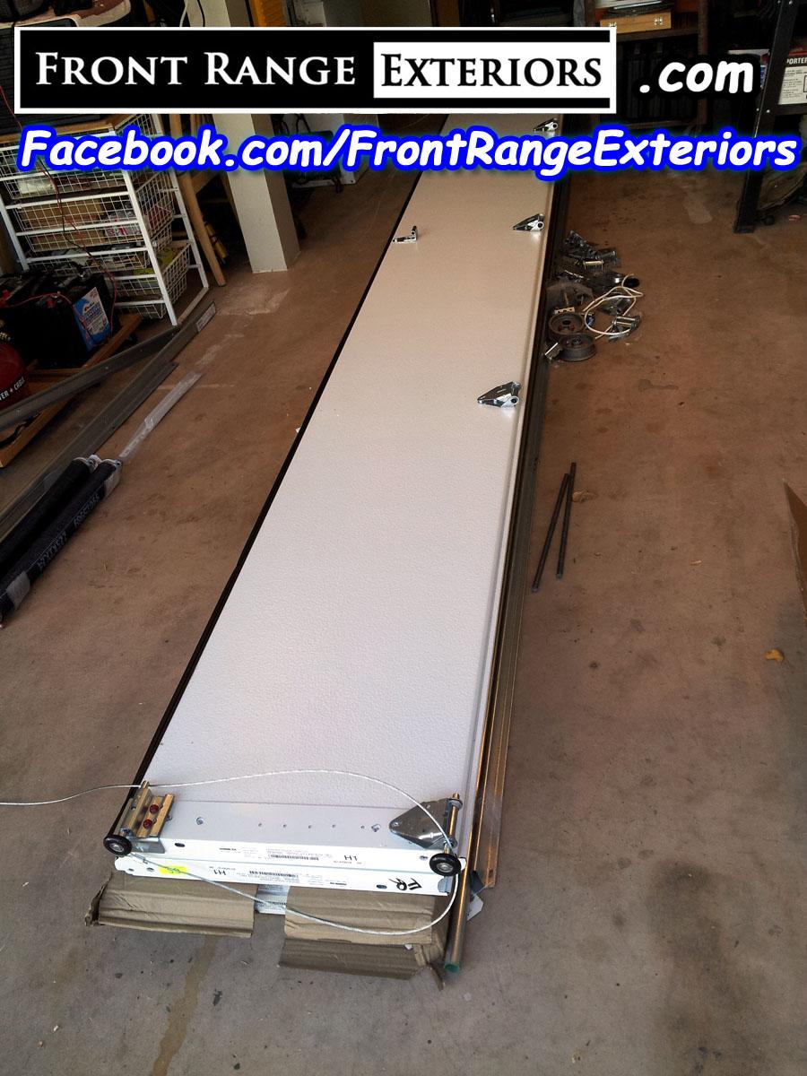 Front Range Exteriors Inc New Garage Door Overhead Doors In Colorado Springs