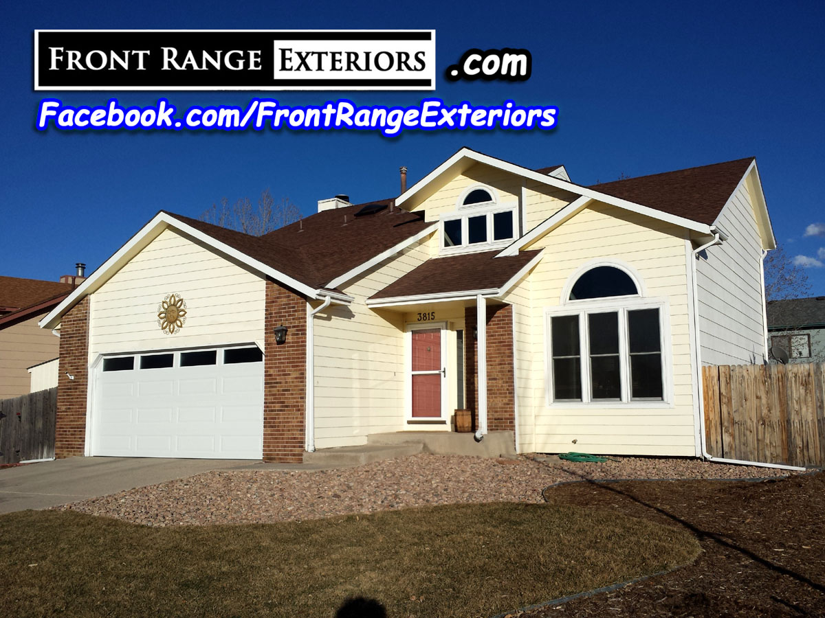 Colorado Springs Overhead Door Replacement Front Range Exteriors Inc Garage Door Contractor
