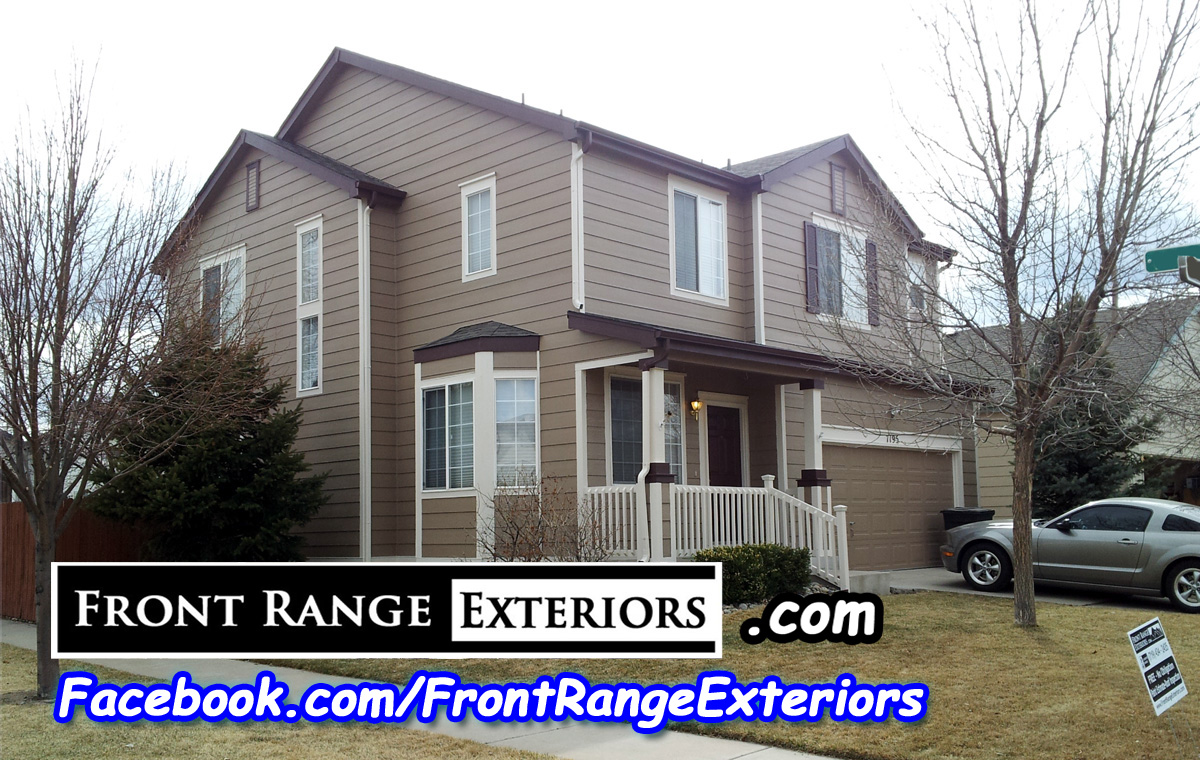 Front Range Exteriors Inc Painting Roofing Siding And New Windows In Colorado Springs