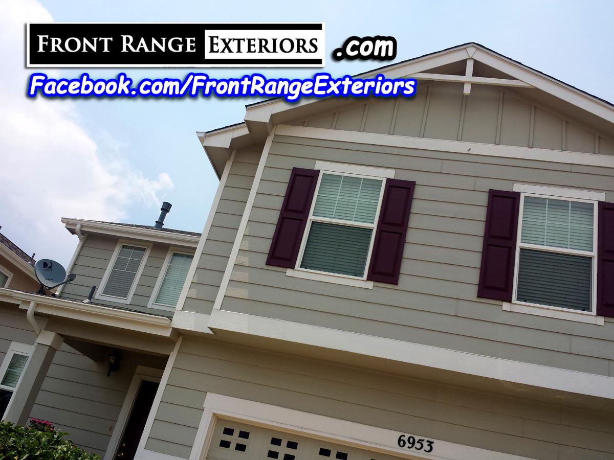 Colorado Springs Painter Contractor Roofer Gutters Windows