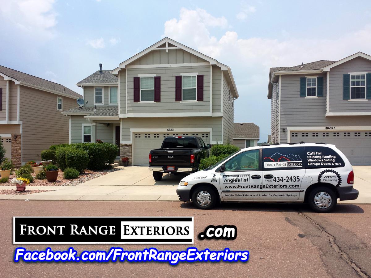 Colorado Springs Painter Contractor Roofer Gutters Windows Front Range Exteriors Inc