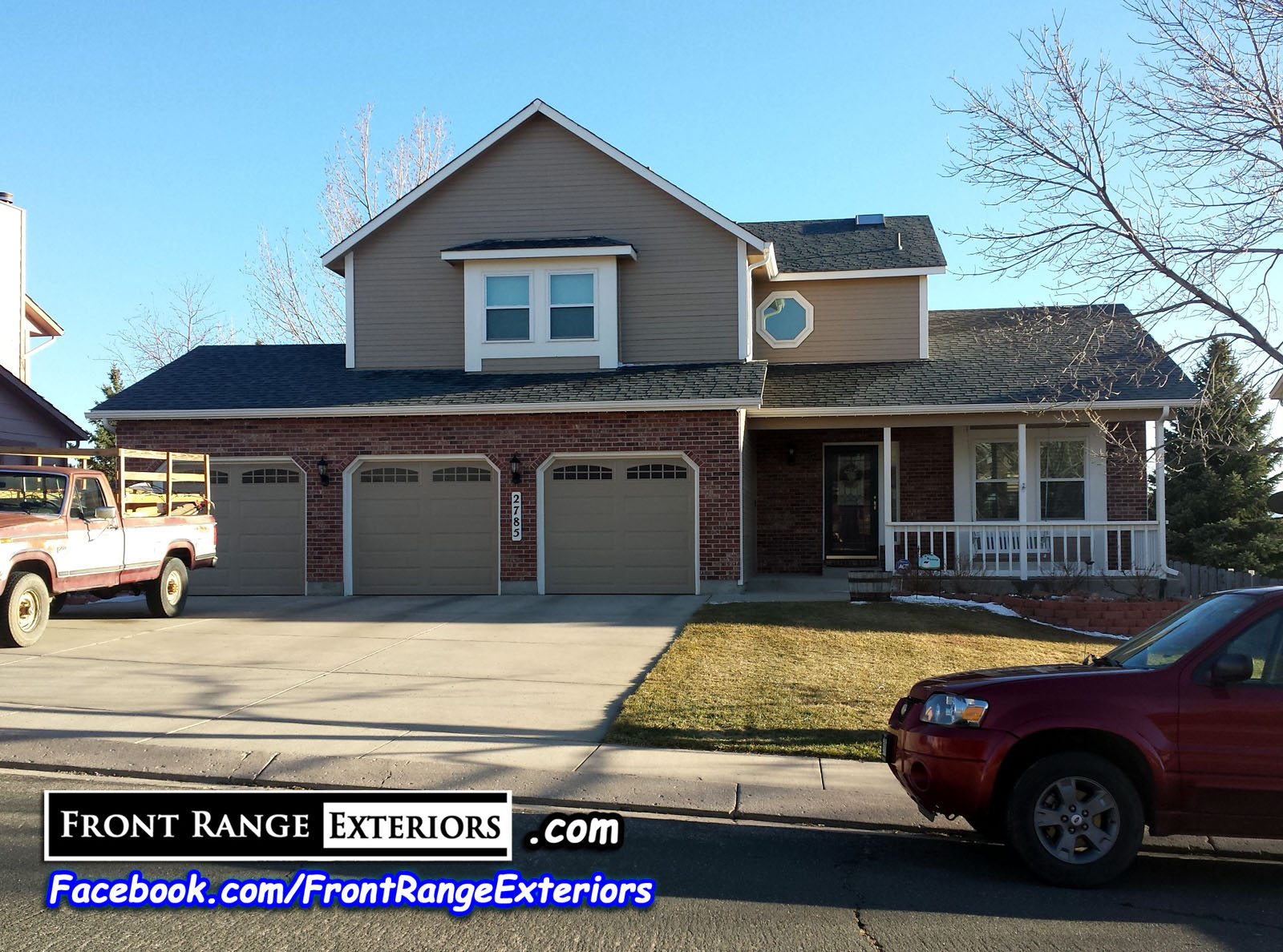 Front Range Exteriors Inc. - Painting Replacement Gutters Garage ...