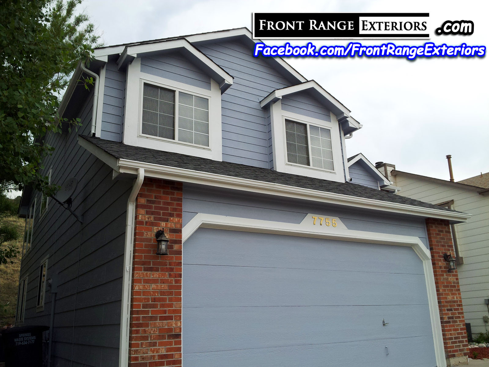 Colorado Springs Painting Contractors Front Range Exteriors Inc - Painting contractors