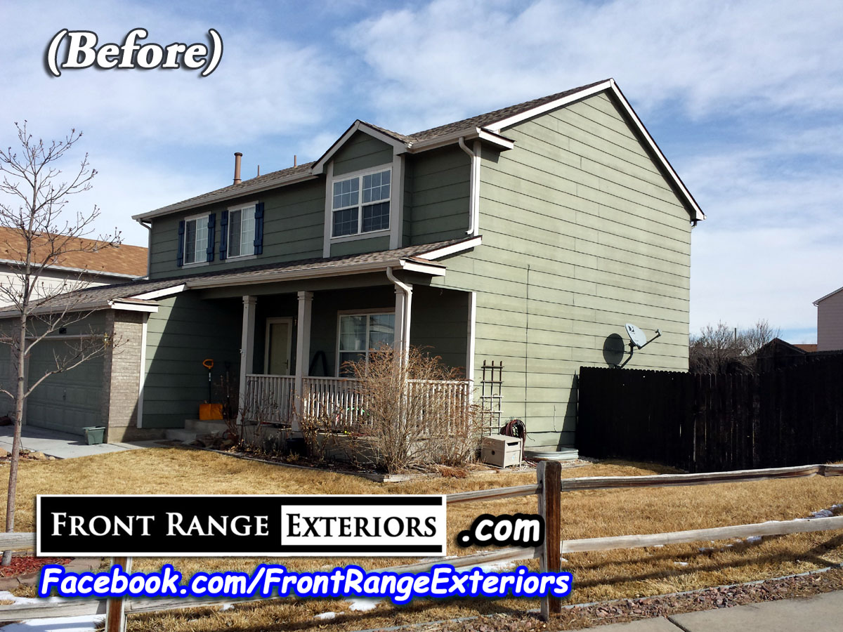 Front Range Exteriors Inc Colorado Springs Painting In Fountain Security Widefield