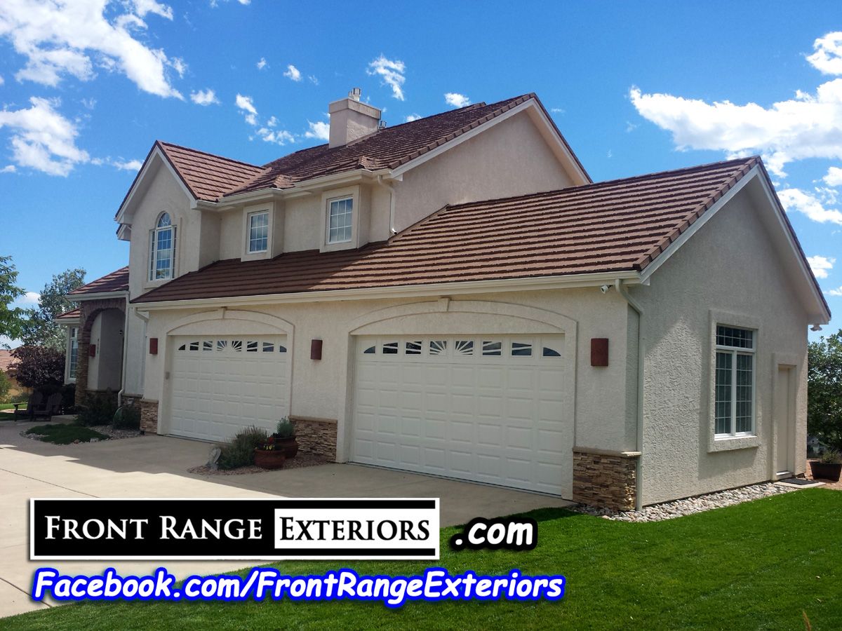 Colorado springs painting stucco woodmen front range exteriors inc - Colorado springs exterior house painting paint ...