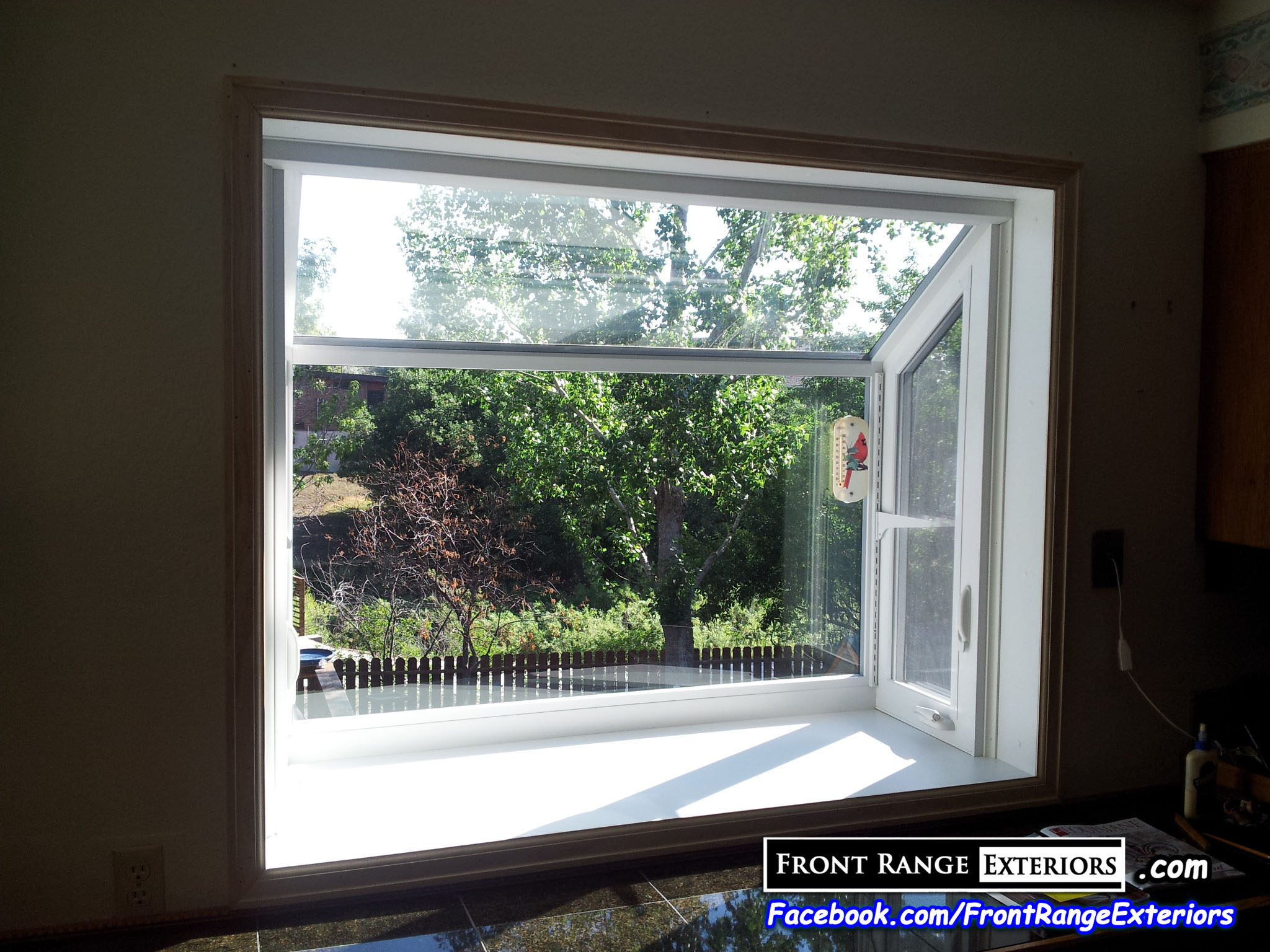 Colorado Springs Replacement Windows Bay Window Garden Box Front