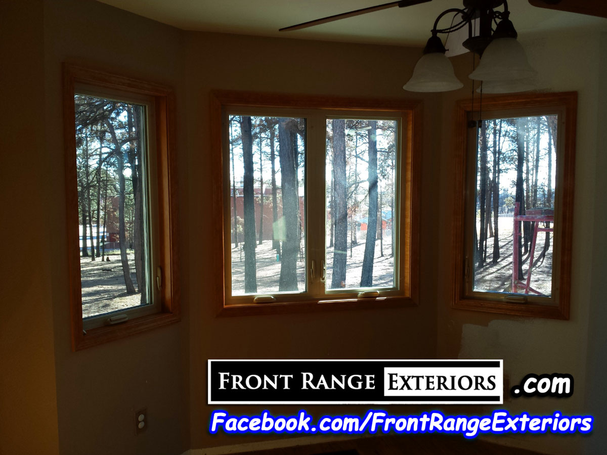 Colorado springs replacement windows black forest fire for Wood windows colorado