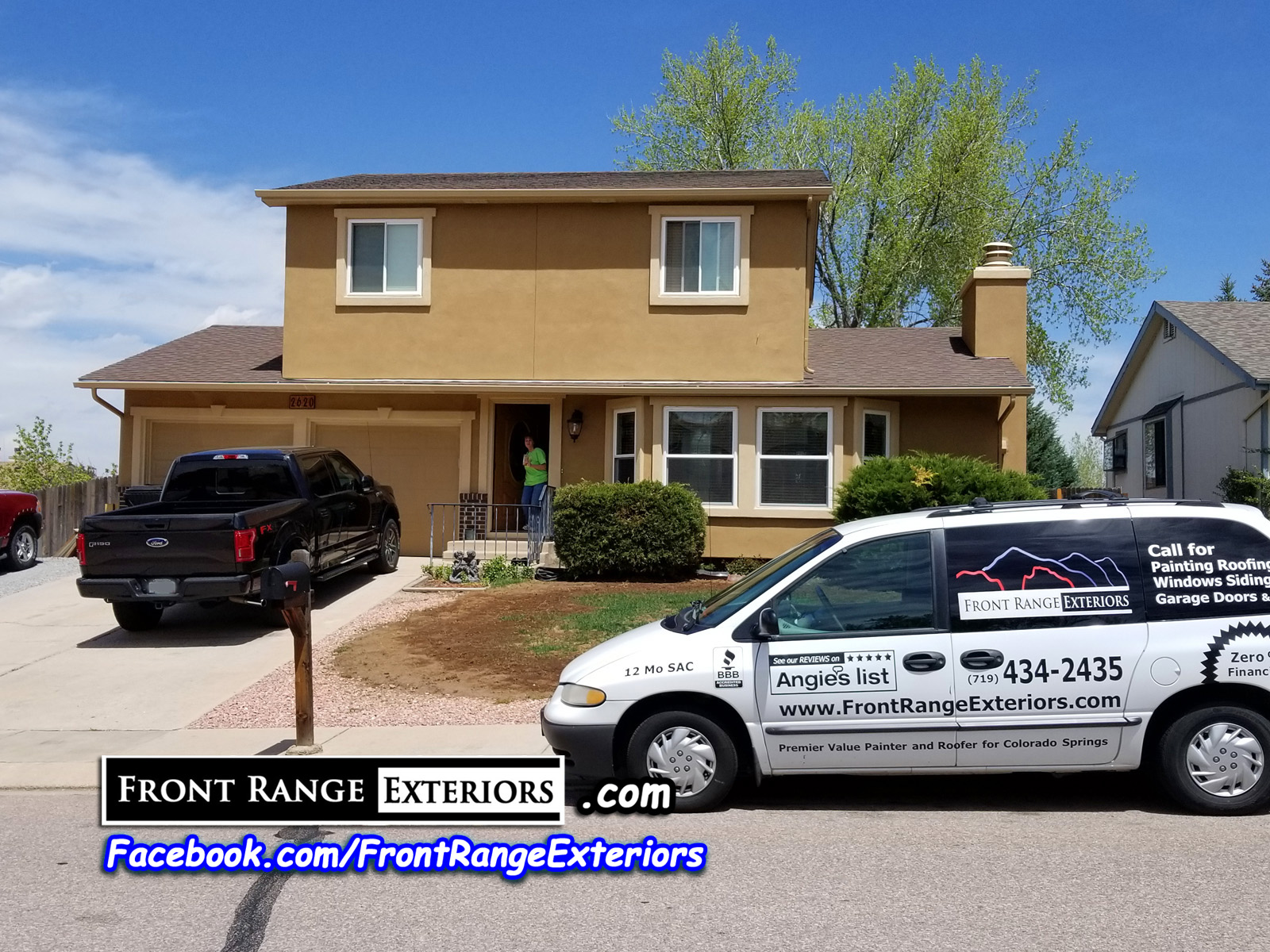 Colorado Springs Stucco Contractor Briargate Replacement