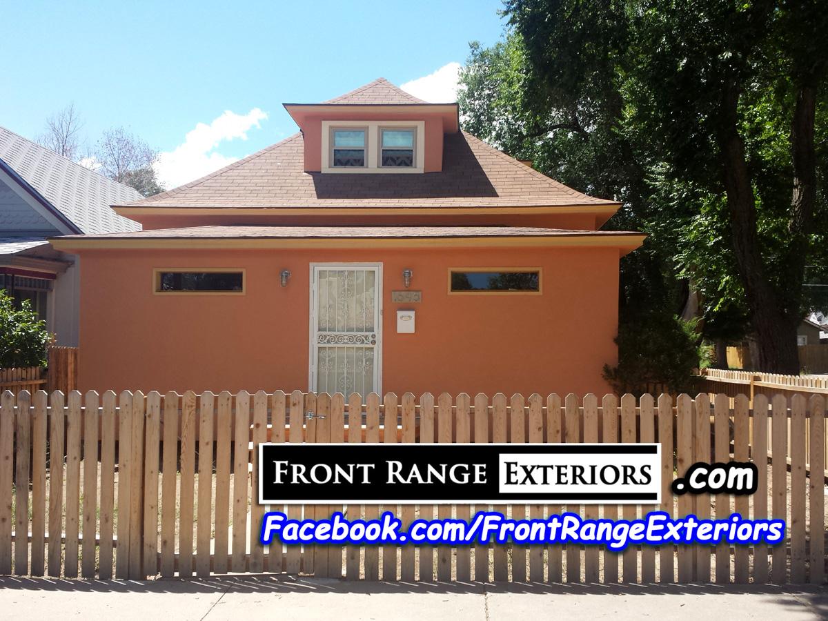 Colorado Springs Stucco Over Siding Old Colorado City Painters Front Range Exteriors Inc