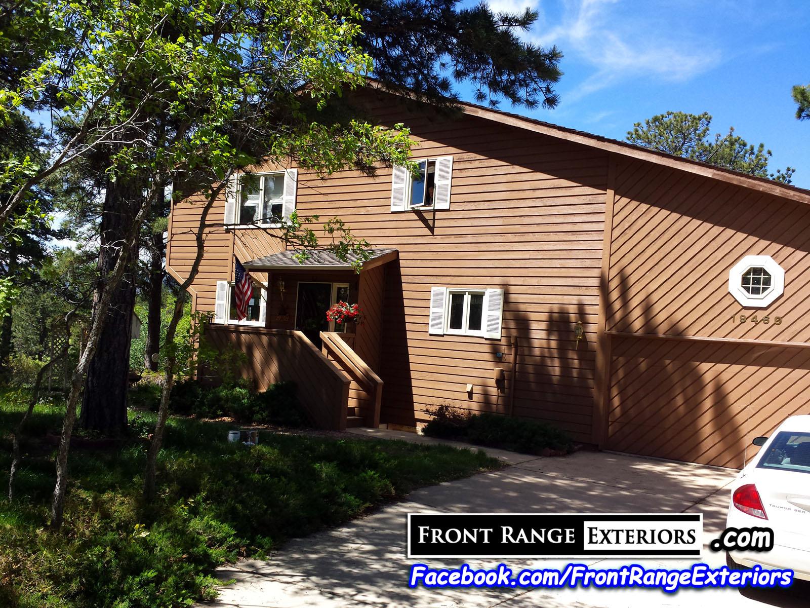 Exterior house painting colorado springs 719 staining front range exteriors inc - Colorado springs exterior house painting paint ...