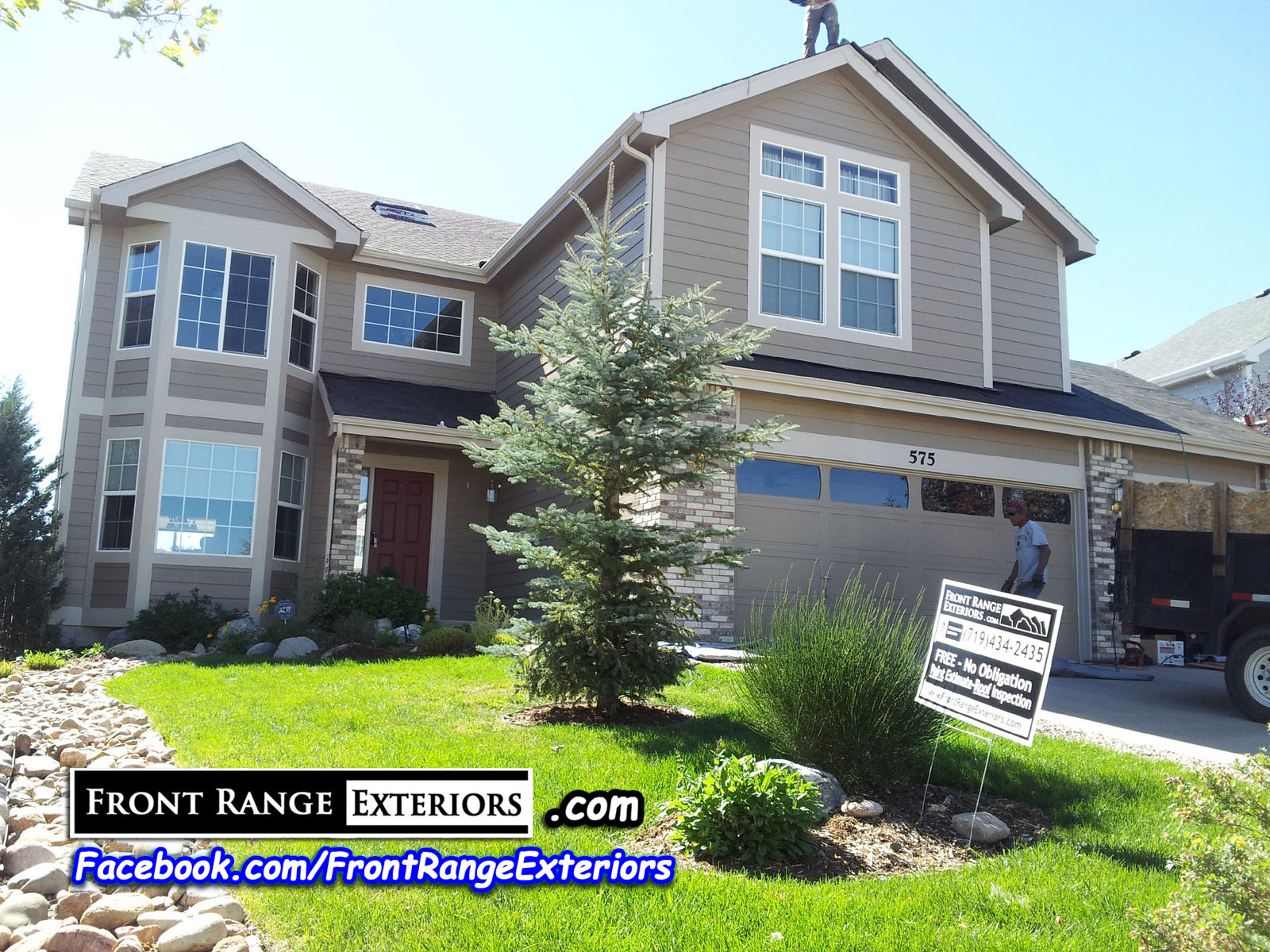 Hail Damage Roofing Colorado Springs Front Range