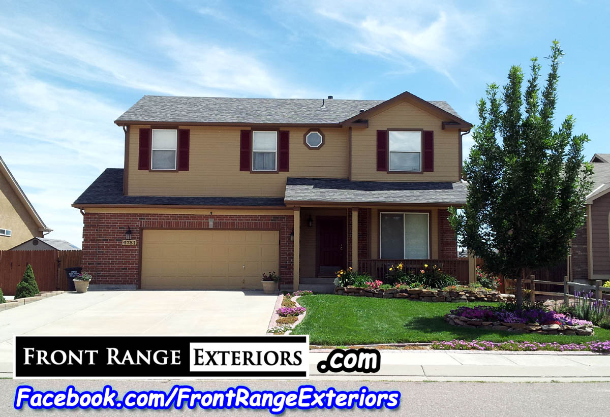 Front Range Exteriors Inc House Painters In Colorado Springs Security Widefield