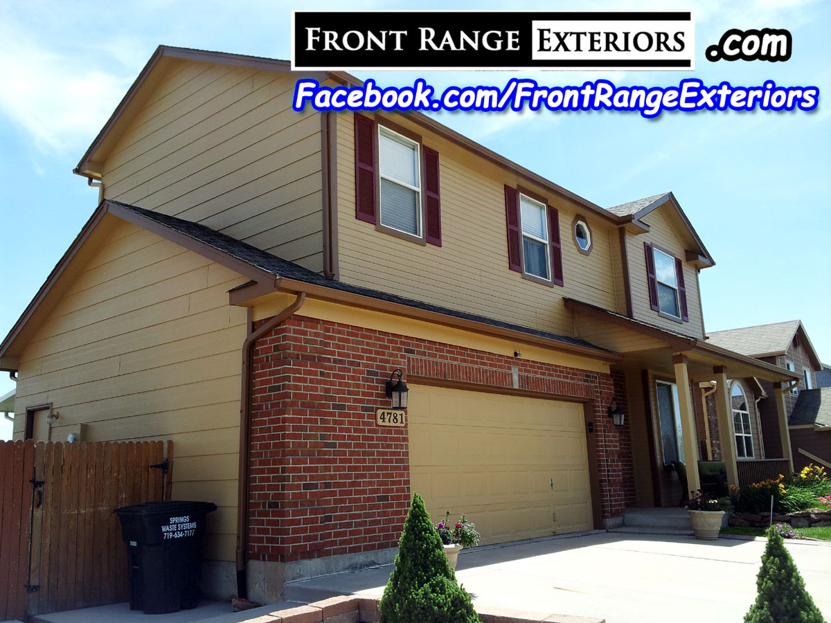 Front range exteriors inc house painters in colorado springs security widefield - Exterior painting colorado springs decoration ...