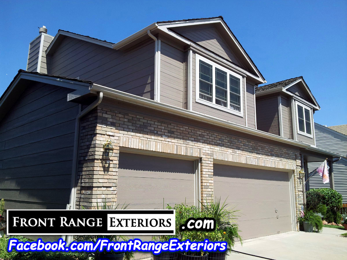 Front Range Exteriors Inc House Painting In Colorado Springs Rockrimmon Peregrine