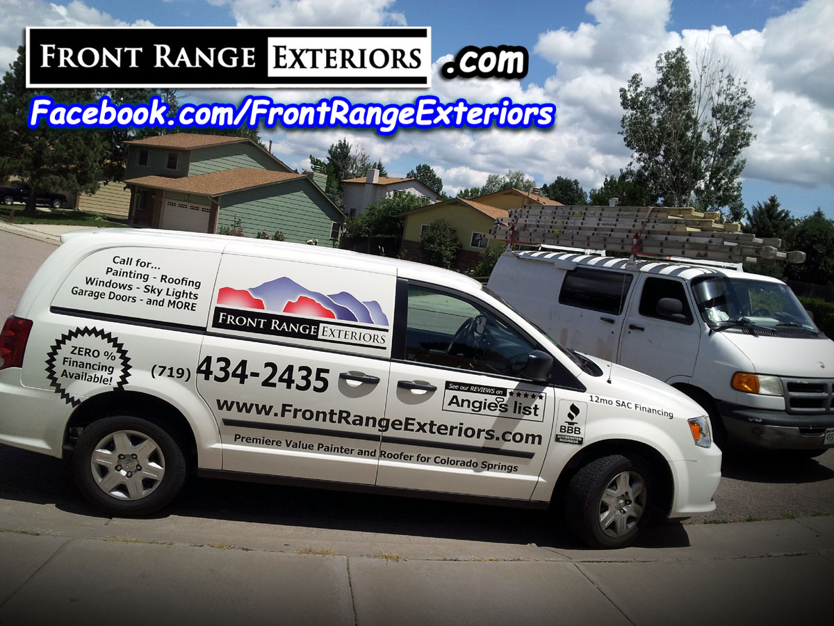 Interior Exterior House Painting In Colorado Springs Monument Front Range Exteriors Inc