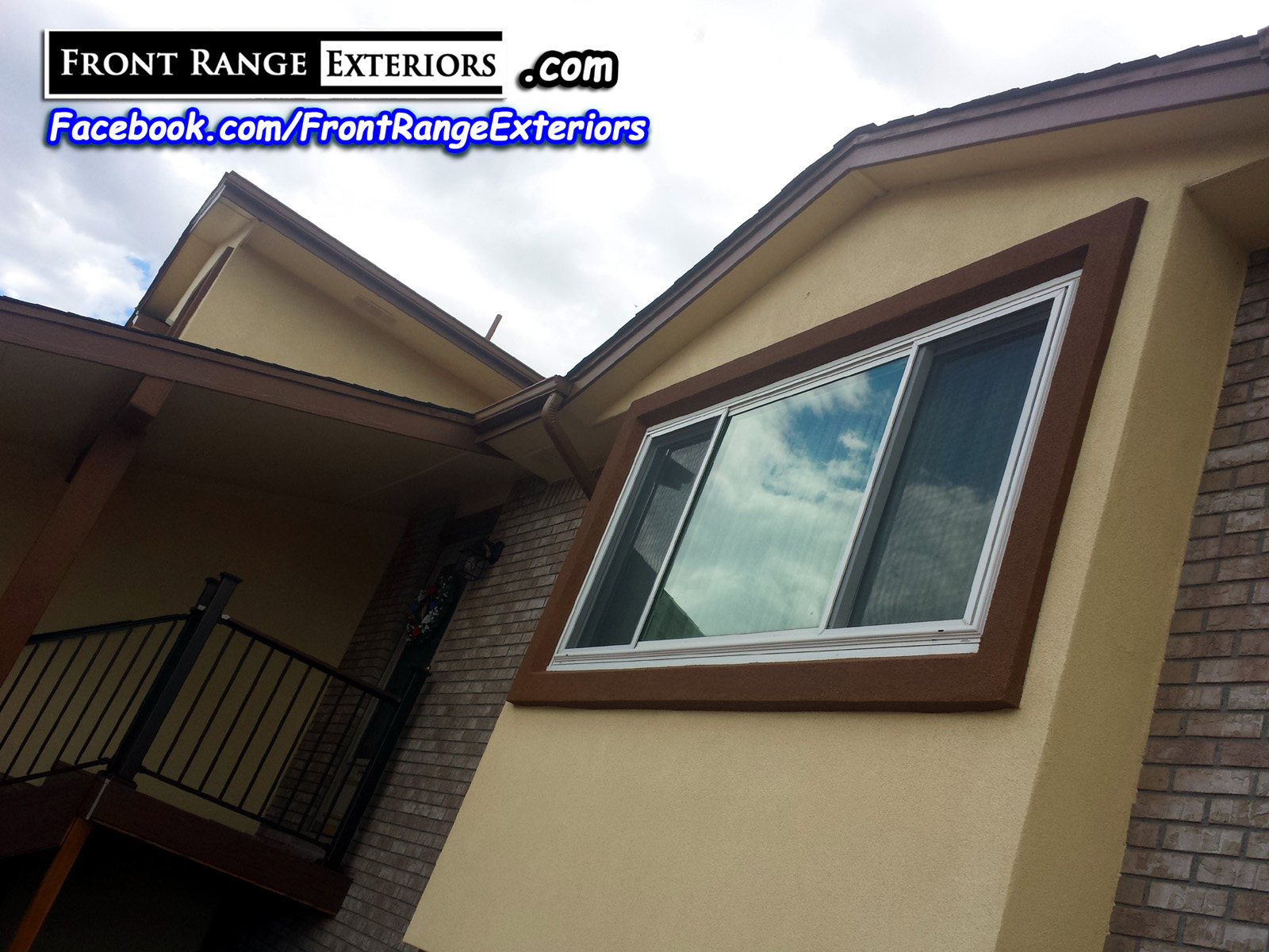 Front range exteriors inc stucco over siding and for Modern alternatives to stucco