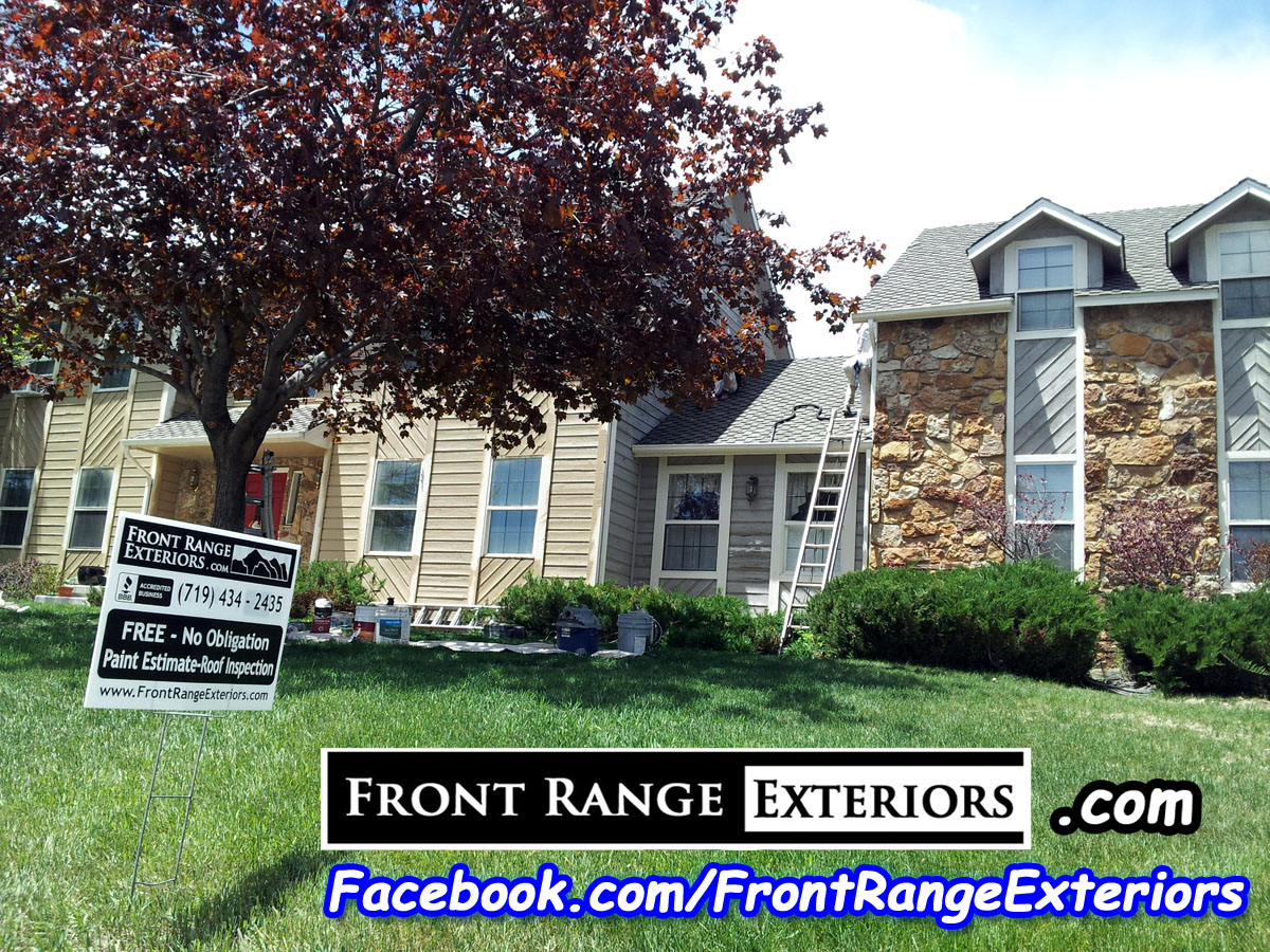 Front range exteriors inc new windows and painting in colorado springs broadmoor - Colorado springs exterior house painting paint ...