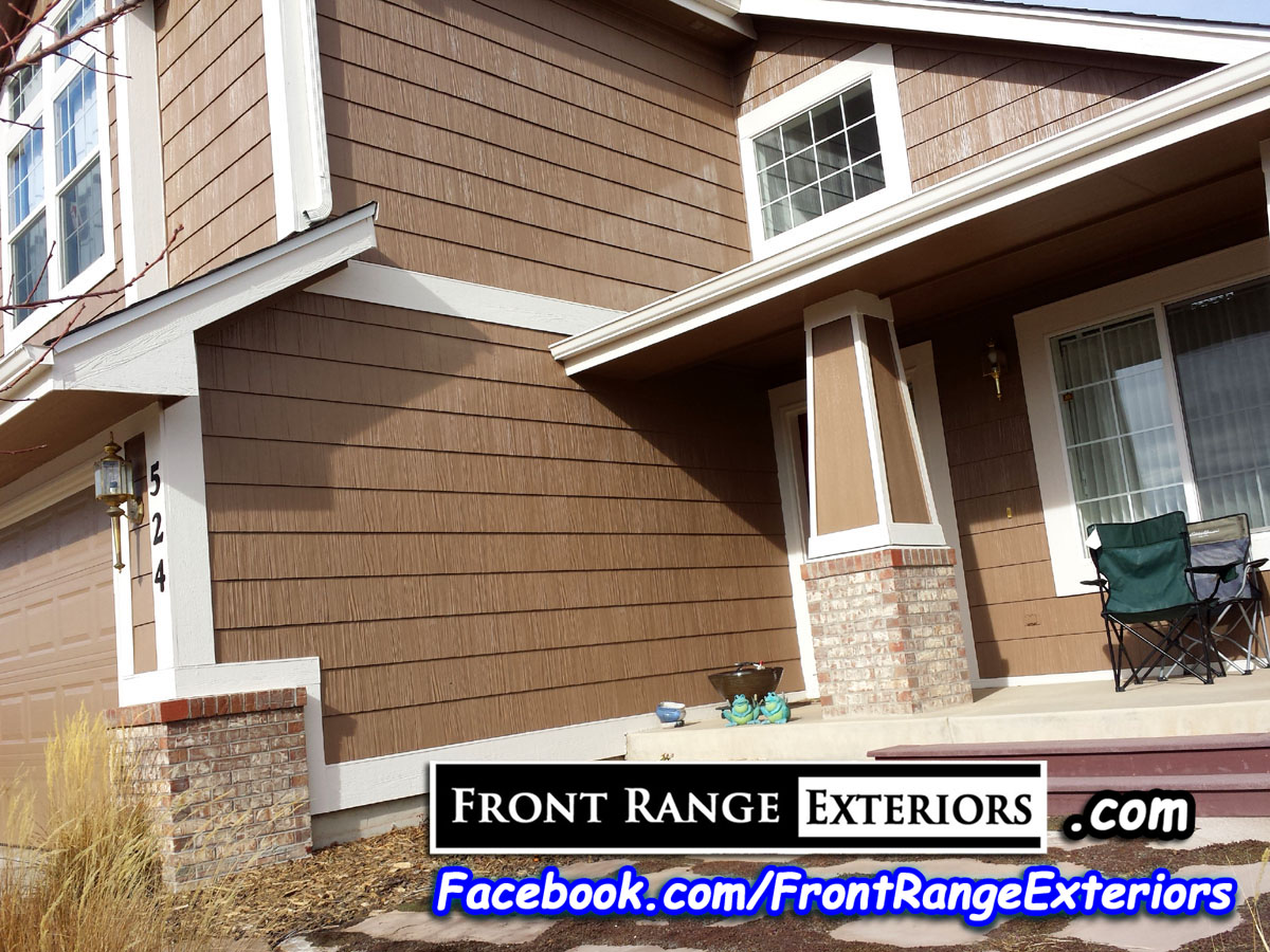 North colorado springs painting roofing after hail damage front range exteriors inc - Colorado springs exterior painting decoration ...