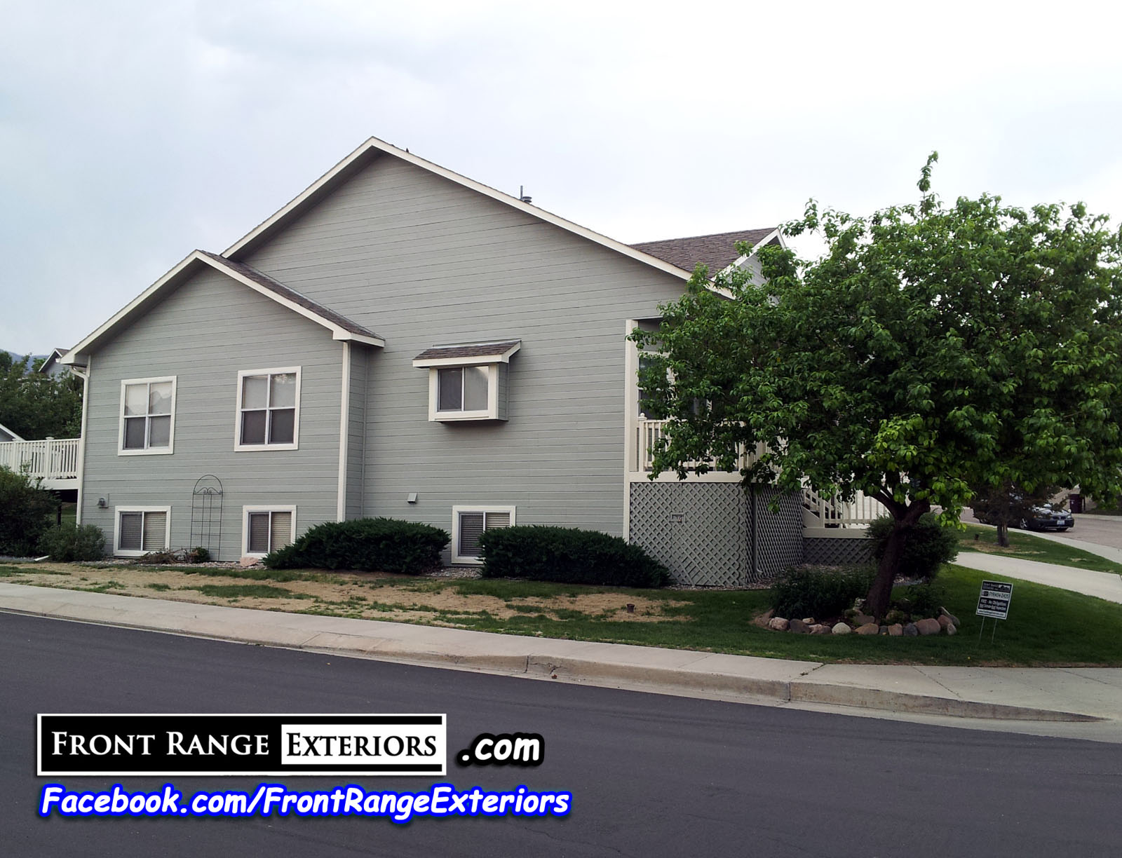 Paint contractors in colorado springs 80919 front range exteriors inc - Colorado springs exterior house painting paint ...
