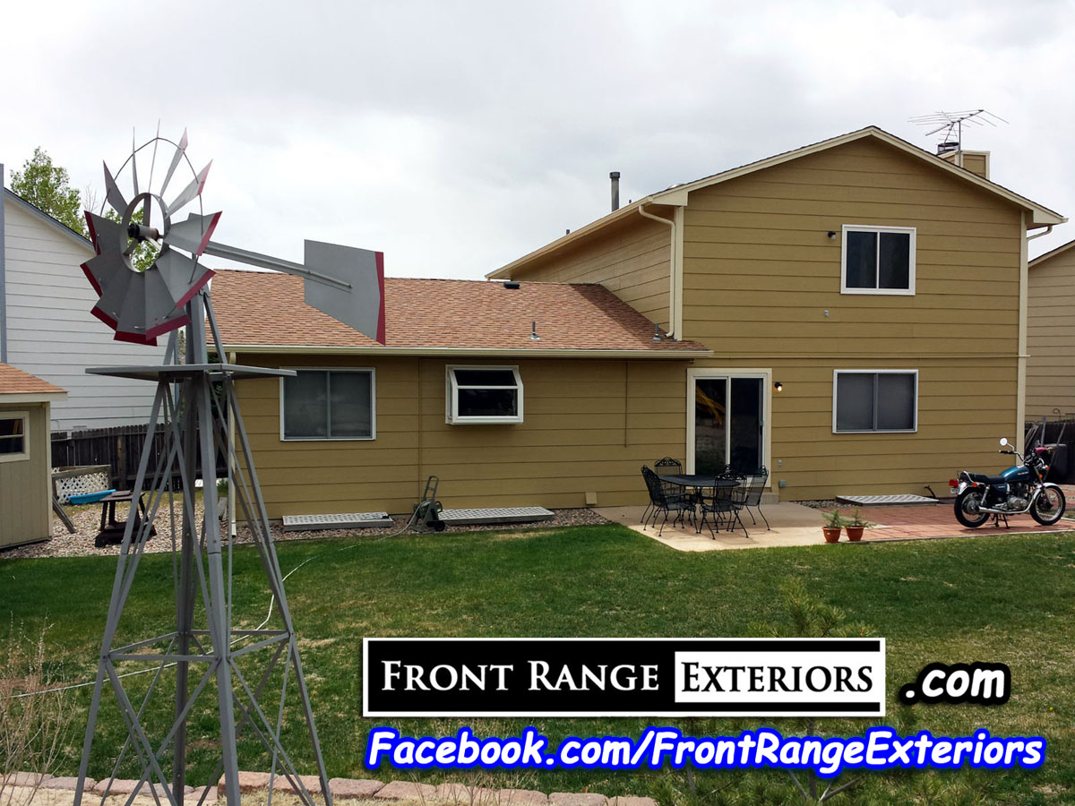 Paint Roofing Colorado Springs Garage Door Front Range
