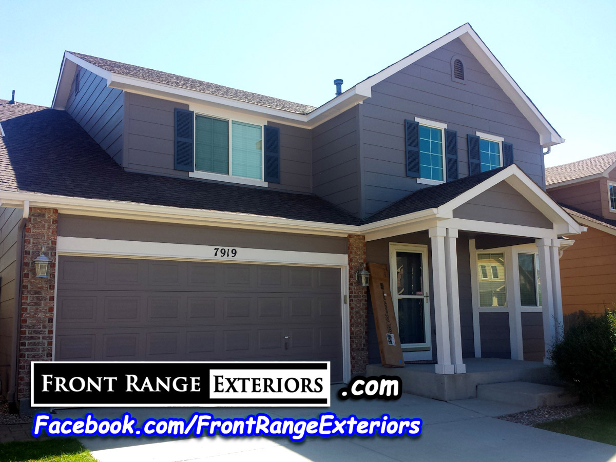 Painting Companies Colorado Springs Painter Front Range Exteriors Inc