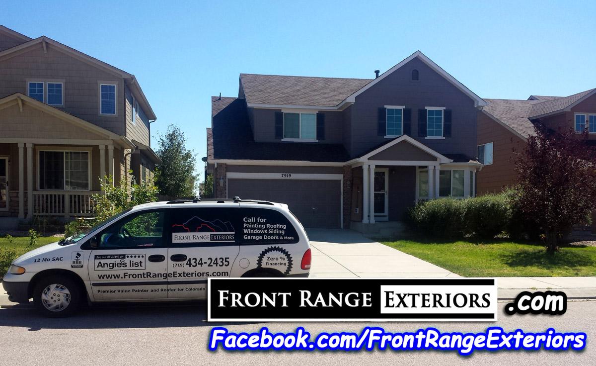Painting Companies Colorado Springs Painter Front Range Exteriors Inc