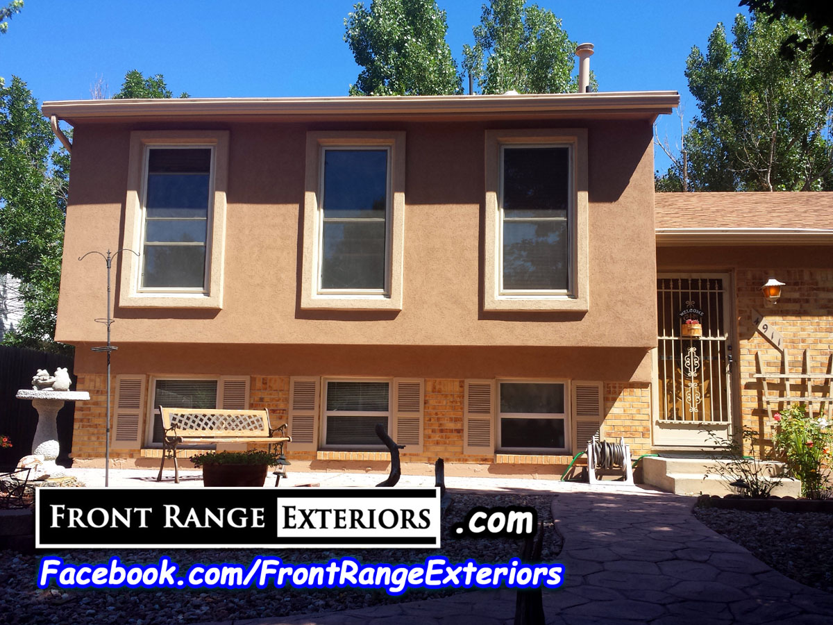 Painting Contractors Colorado Springs Stucco Over Siding Front Range Exteri