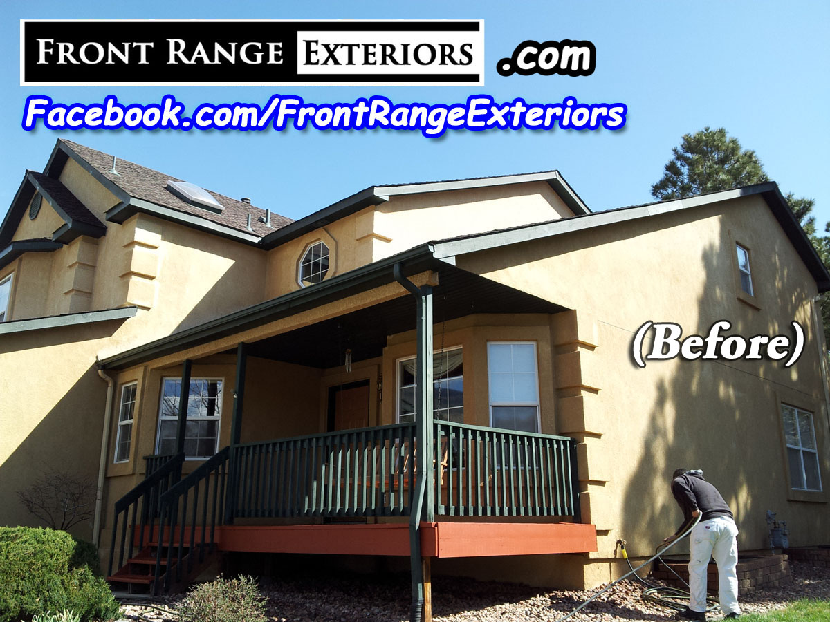 Front Range Exteriors Inc Stucco Restoration Elastomeric And Painting In Colorado Springs