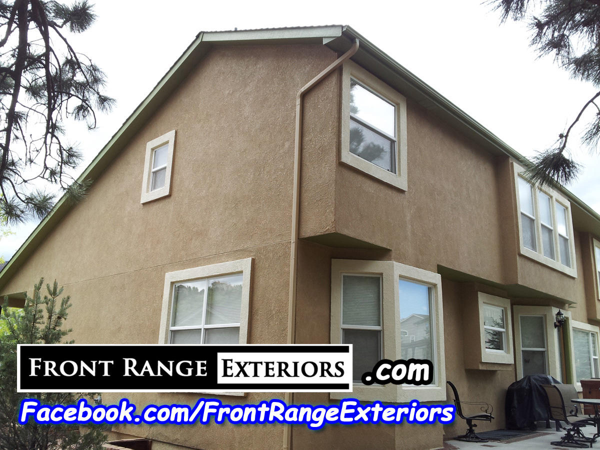 Front Range Exteriors Inc Stucco Restoration Elastomeric And Painting In