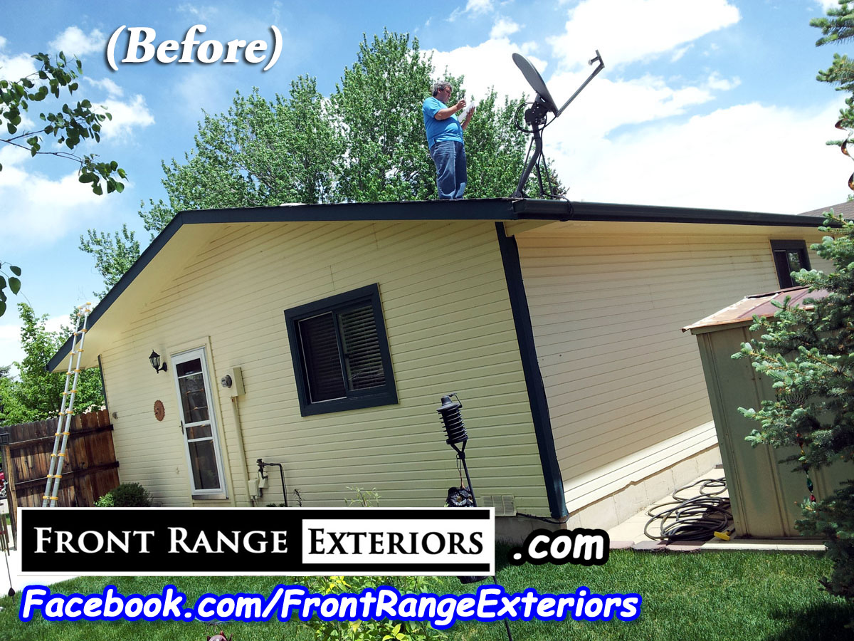 Roof Hail Damage Insurance Representation Colorado Springs Front