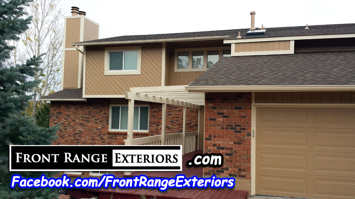 Roof Inspection For Hail Damage Colorado Springs Egg Golfball Sized Hail Front Range Exteriors