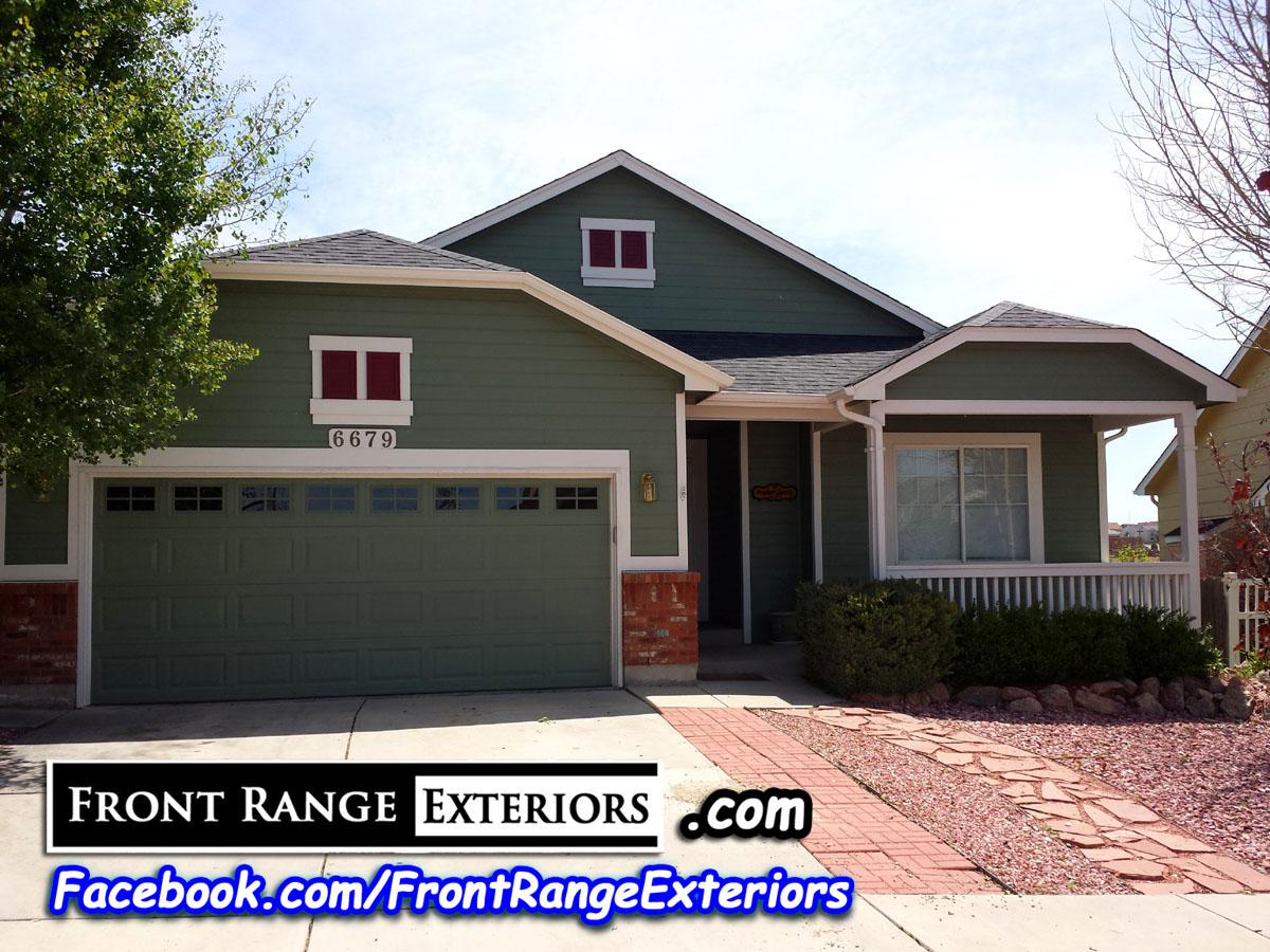Roofing Contractors Colorado Springs Painter Front Range Exteriors Inc