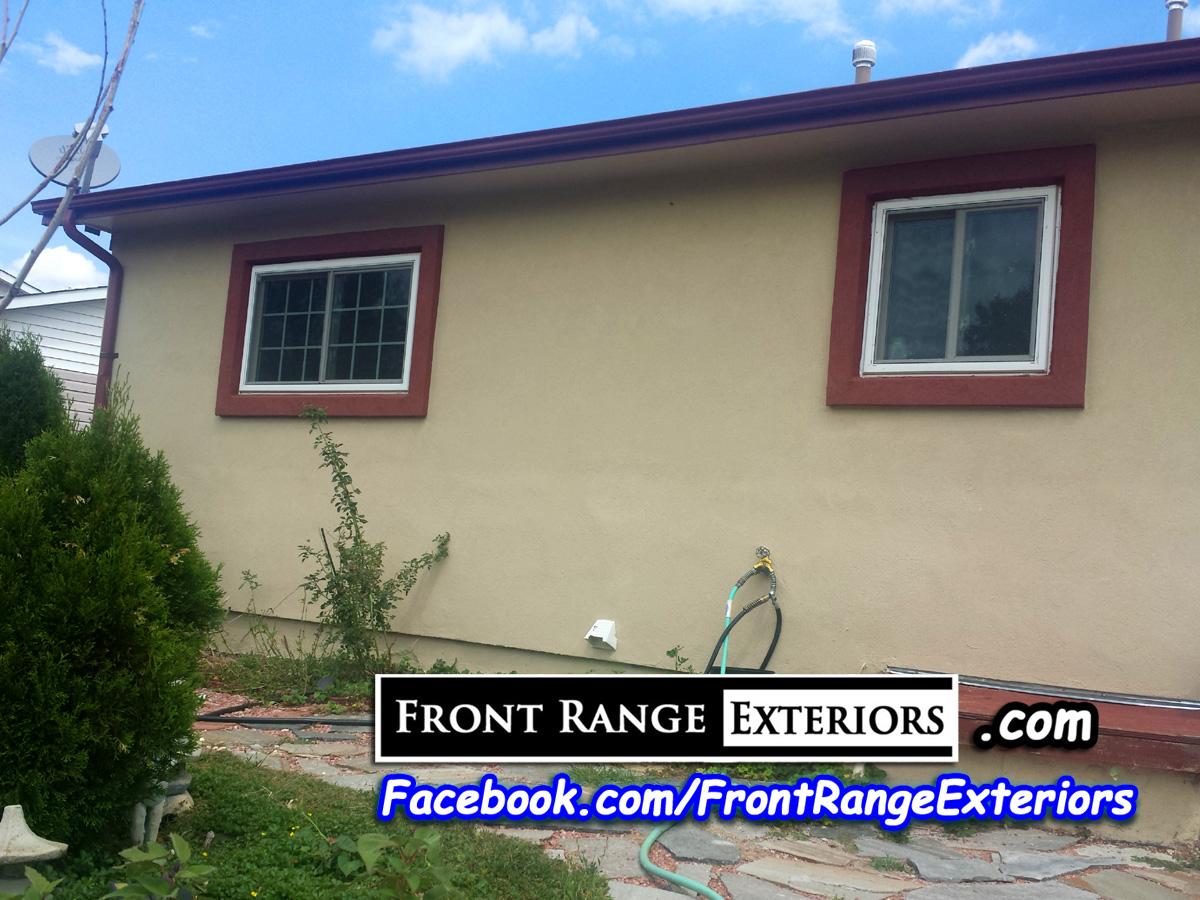 Stucco Over Siding Colorado Springs Painter Front Range Exteriors Inc