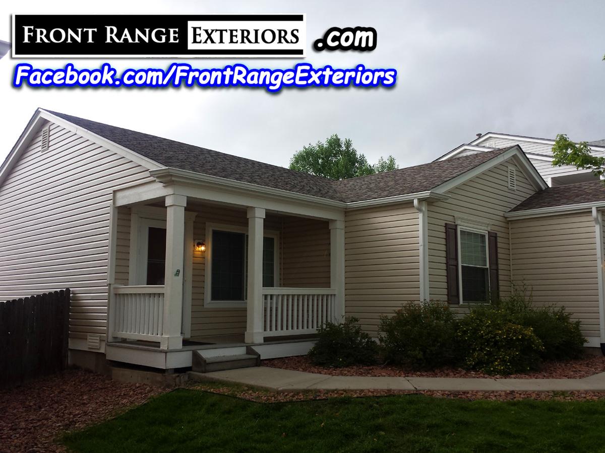 Vinyl Siding Colorado Springs Roofers Hail Gutters Exteriors Windows Front Range Exteriors Inc