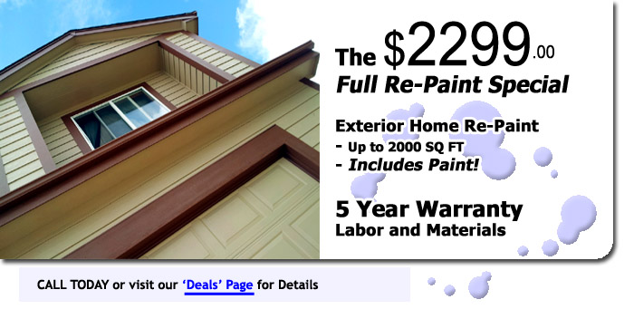 Obtain Your FREE Exterior Paint Estimate For Colorado Springs, Monument,  Woodland Park, And Surrounding Areas!