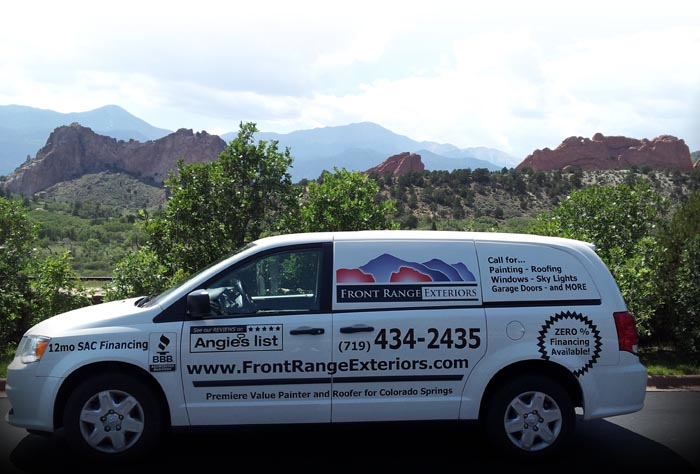 Front Range Exteriors Inc Colorado Springs Painter Roofer Painting Roofing Windows Stucco
