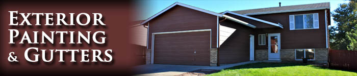 Front Range Exteriors Colorado Springs Painter Exterior Painting And Gutters For El Paso County